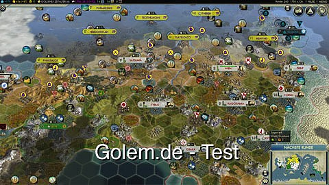 Civilization 5 - Test von Golem.de