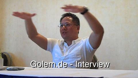 Nvidia-Chef Jen-Hsun Huang über Fermis technische Schwierigkeiten