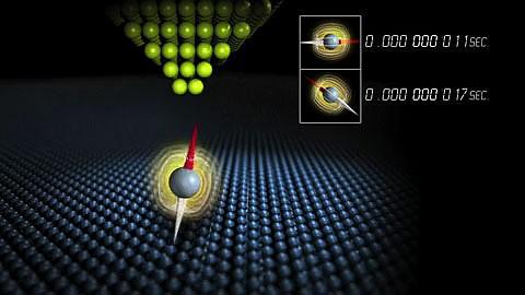 IBM-Forscher beobachten den Spin von Elektronen