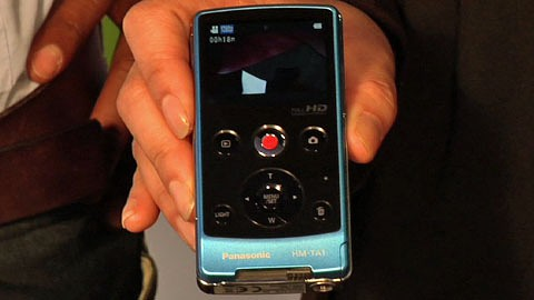 Panasonic stellt die HM-TA 1 auf der Photokina 2010 vor