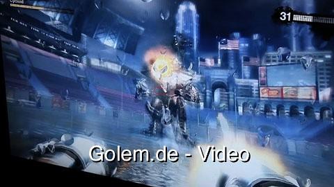 Duke Nukem Forever - Spielszenen (Gameplay) vom 4. Oktober 2010 in München