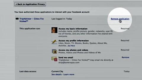 Facebook-Anwendungen kontrollieren