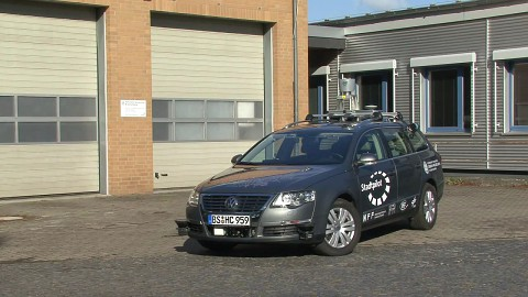 Leonie - das Roboterauto der TU Braunschweig