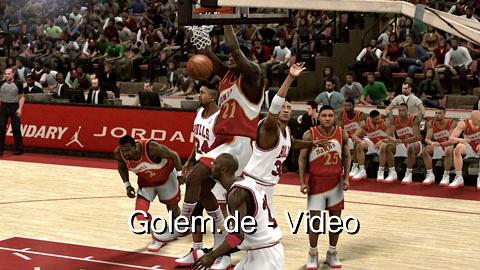 NBA 2K11 - Spielszenen (Gameplay) von Golem.de