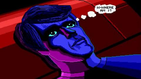 Space Quest 3 undithered und dithered Intro - Vergleich von Nutzer m_kiewitz auf Youtube