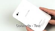 Samsung Galaxy Tab - Test
