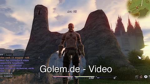 Final Fantasy 14 - Spielszenen (Gameplay) aus den ersten 60 Minuten