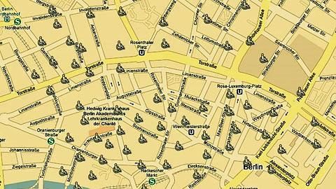 Wheelmap erstellt Karten für Rollstuhlfahrer