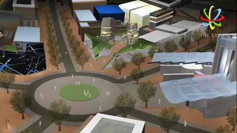 Die virtuelle Expo beginnt 2011