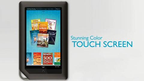 Nook Color - E-Book-Reader von Barnes Noble