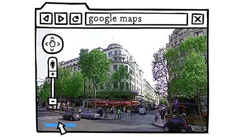 Google - Google Maps und Streetview