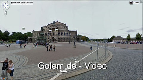Google - Street-View-Start in Deutschland