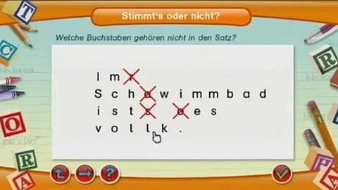 Lernerfolg Grundschule Deutsch Klasse 1-4 (Wii) - Die erste Lernspielreihe für Nintendo Wii