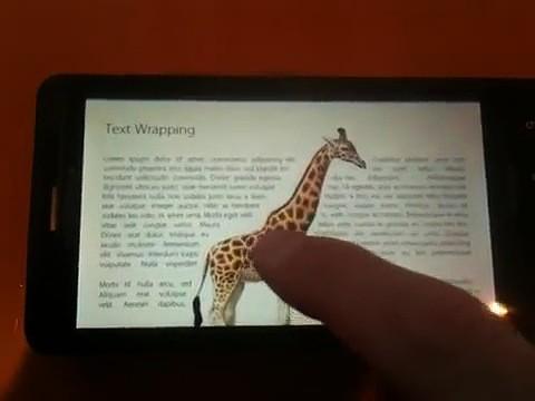 Adobe - flexible Textlayouts mit Webkit