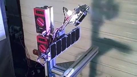 Power Beaming von Laser Motive - Demonstration