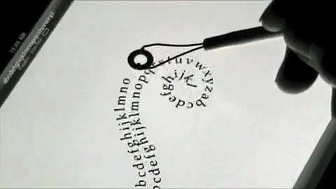 O-Stylus - digitales Zeichenwerkzeug - Demonstration