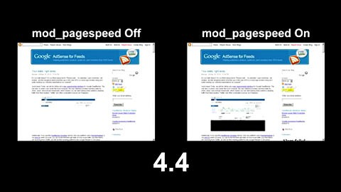 Google zeigt mod_pagespeed in Aktion