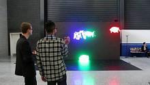 Paint Wall - Pixel statt Farbe