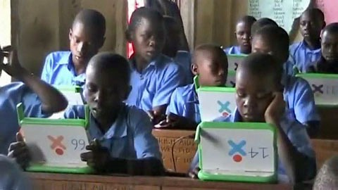 One Laptop Per Child - Kasiisi-Projekt in Uganda