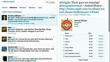 Twitter zeigt Anbindung an Ping
