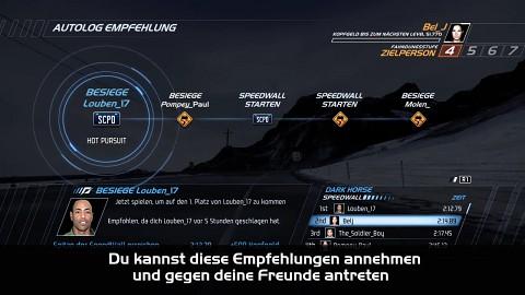 Need for Speed Hot Pursuit - Autolog erklärt
