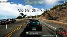 Need for Speed Hot Pursuit - Spielszenen (Gameplay) von Golem.de