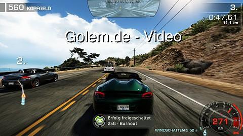 Need for Speed Hot Pursuit - Spielszenen (Gameplay) von Golem.de