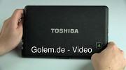 Toshiba Folio 100 - ausprobiert
