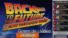 Back to the Future (Zurück in die Zukunft) Blitz Through Time - Facebook-Spiel