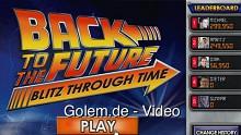 Back to the Future (Zurück in die Zukunft) Blitz Through Time - Facebook-Spiel