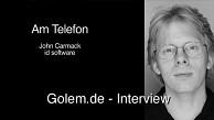 John Carmack - Telefoninterview über id Tech 5 auf mobilen Geräten