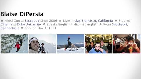 Vorstellung des neuen Facebook-Profils