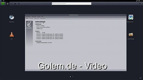 Jolicloud 1.1 - ausprobiert
