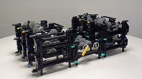 Antikythera-Mechanismus in Lego nachgebaut