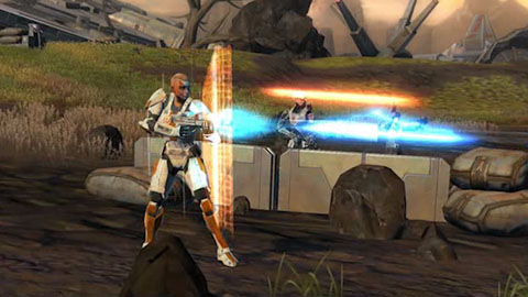 Star Wars The Old Republic - Soldat - Trailer