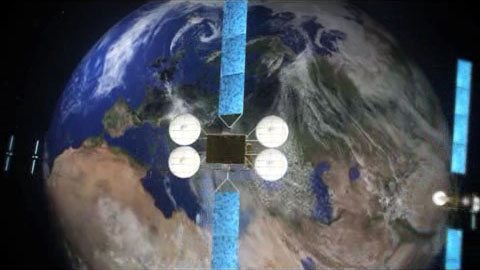 Ka-Sat Satellit - Video von Eutelsat Communications