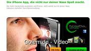 Nose Dial - das iPhone mit der Nase bedienen