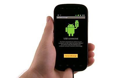 Googles Nexus S - Datenabgleich