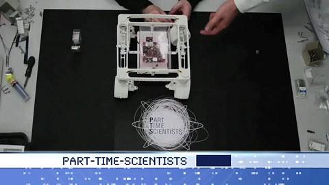 Part Time Scientists - Teilnehmer am Google Lunar X-Prize