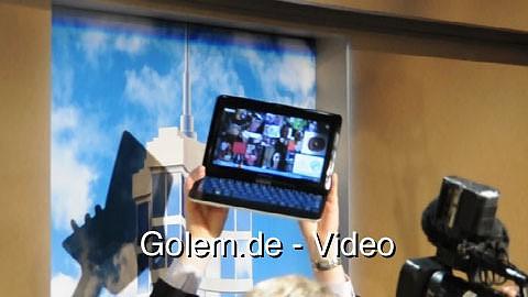 Samsung Slider - Vorstellung auf der CES 2011