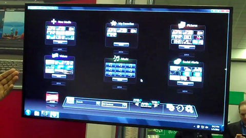 AMD Stand auf der CES 2011 - Herstellervideo