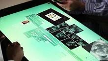 Anwendungsbeispiel für Surface 2.0 von Microsoft - Herstellervideo