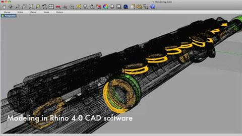 Eine Flöte aus dem 3D-Drucker