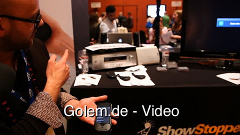 Das iPhone als Universalfernbedienung - Voomote One auf der CES 2011