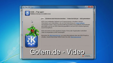 KDE Software Compilation 4.5.4 für Windows
