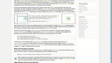 Vollbildmodus in Webkit