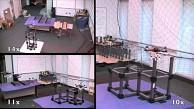 Flugroboter bauen Gerüste