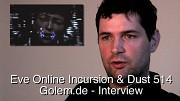 Eve Online Incursion und Dust 514 - Interview mit Húni Hinrichsen