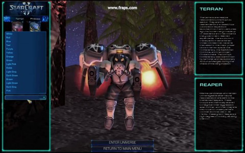 Modifikation World of Starcraft Pre-Alpha - Trailer