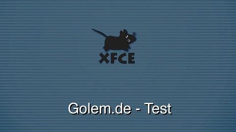 Xfce 4.8 - Test